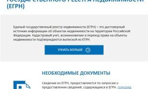 Получить выписку из ЕГРН  через интернет быстро и недорого с помощью нового сервиса